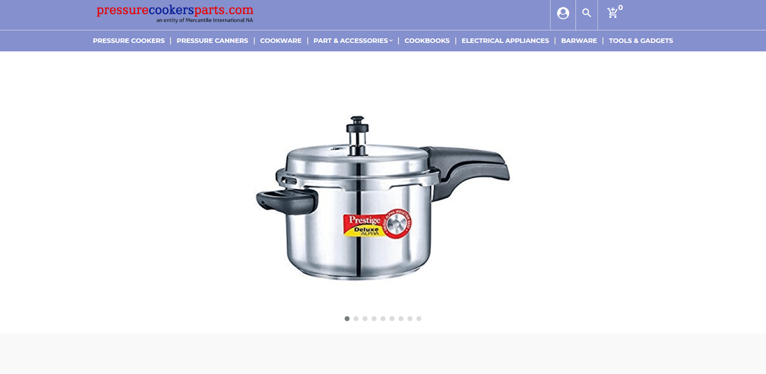 Pressure Cookers Parts